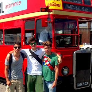 andare in Inghilterra