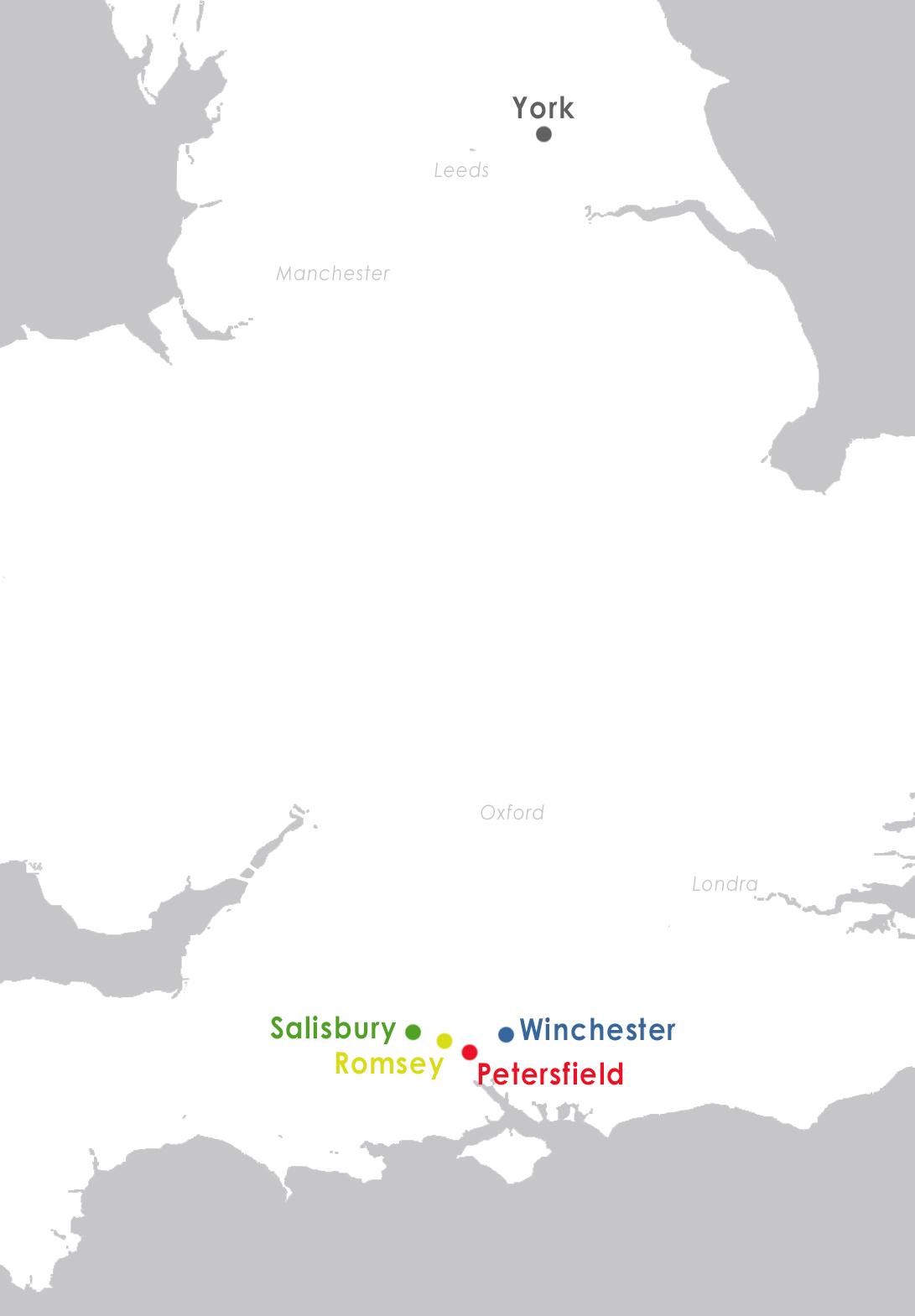 mappa ministays stage linguistici
